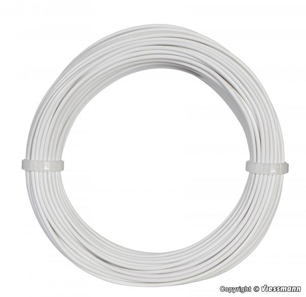 Kabelring 0,14 mm², weiß, 10 m