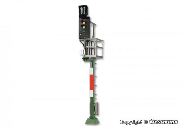 H0 Ks-Hauptsignal als Ausfahrsignal mit Multiplex-
