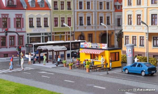 H0 Deko-Set Straße und Stadt