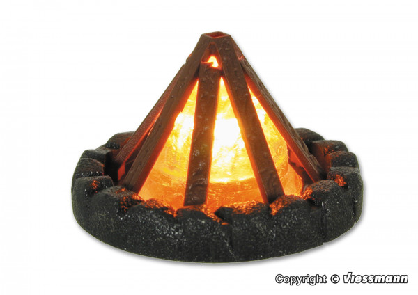 H0 Lagerfeuer