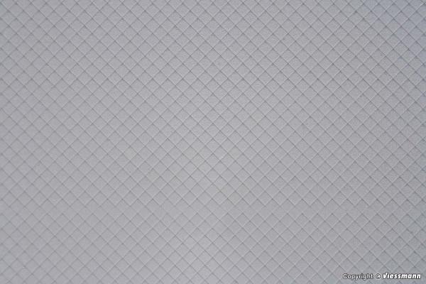 H0 Schieferdachplatte, L ca. 20 x B 12 cm