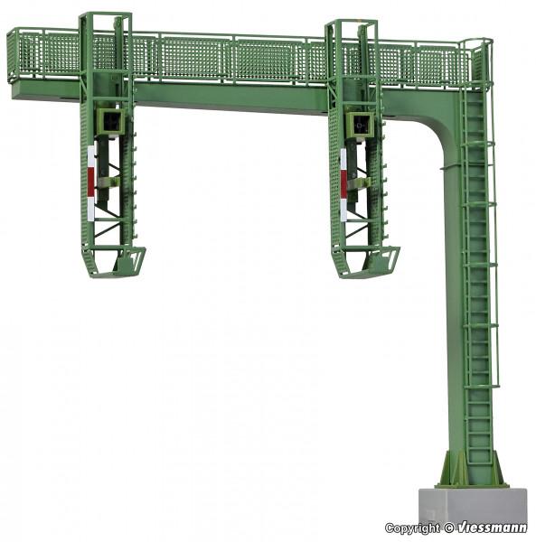 H0 Signalbrücke mit Multiplex-Technologie ohne