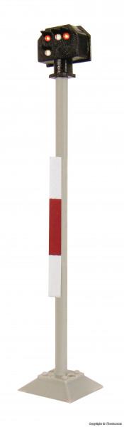 H0 Licht-Sperrsignal, hoch, mit Multiplex-