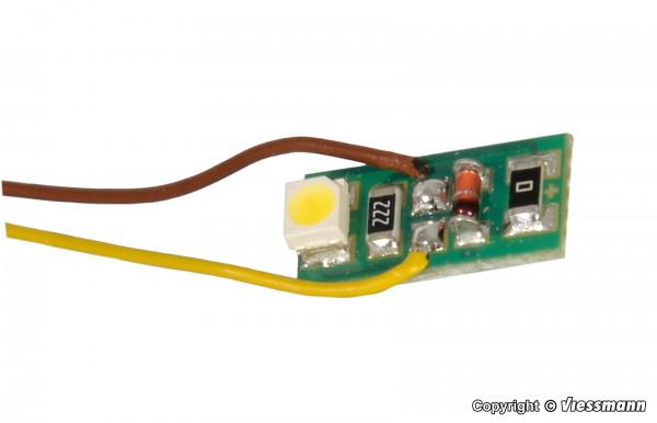 Hausbeleuchtung mit 1 LED warmweiß, 10 Stück