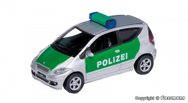 H0 Mercedes-Benz A200 Polizei, grün/silber,
