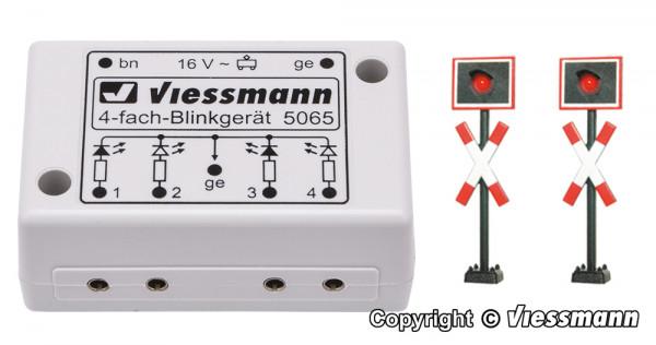 N Andreaskreuze, 2 Stück mit Blinkelektronik
