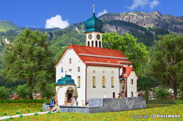 N Kirche Wassen an der Gotthardbahn