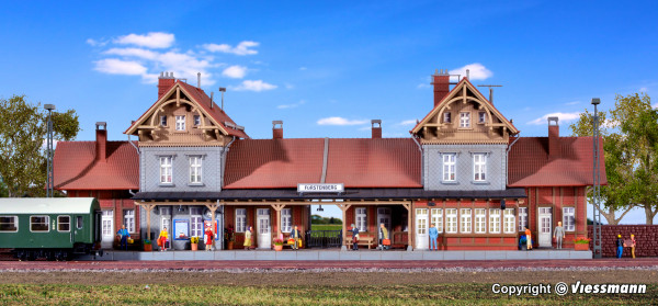 H0 Bahnhof Fürstenberg