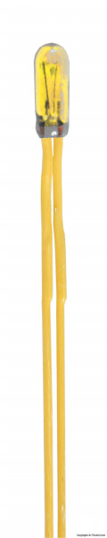 Glühlampen gelb T3/4, Ø 2,3 mm, 12 V, 50 mA,