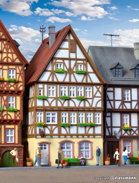 H0 Fachwerkhaus am Markt in Miltenberg