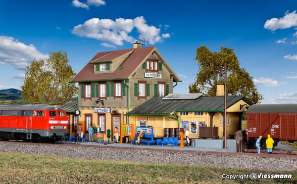 H0 Bahnhof Dettingen